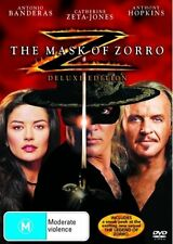 The Mask Of Zorro (DVD, 2005) DELUXE EDITION - FREE POST!!