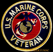 US MARINE CORPS VETERAN HAT PATCH COMBAT VET GIFT PIN UP USMC EGA POW MIA WOW