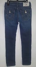 Girls True Religion Skinny Natural Single End Jeans Size 8