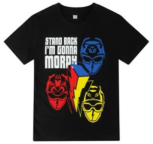 Boys Power Rangers Stand Back I'm Going to Morph Cotton T-Shirt