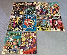 New Mutants #29,36,40,42-3,58-9,62,65-6 VF+ (1985-8) comic book lot x10