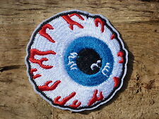 ECUSSON PATCH THERMOCOLLANT toppa aufnaher OEIL rockabilly movie retro vintage