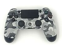 Playstation 4 PS4 Camo Controller Gray White Urban Camouflage Dualshock Wireless