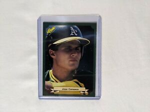 Jose Canseco 1987 Classic Green Rookie Card #46 - gorgeous card
