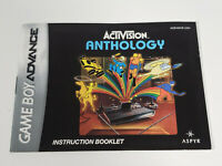 Nintendo Game Boy Advance Activision Anthology Instruction Booklet Manual