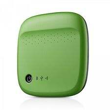 Genuine Seagate 500GB Wireless Portable Hard Drive Green