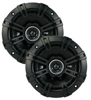 "2) Kicker 43DSC504 D-Series 5.25"" 200W 2-Way 4-Ohm Car Audio Coaxial Speakers"