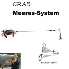 Meeres-System Quick Staple mit Storm Crab VMC SEA Hook + 100g Blei + 50LB TITAN