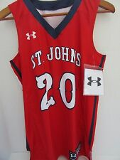St Johns Red Storm Basketball Jersey Women's  Medium NWT