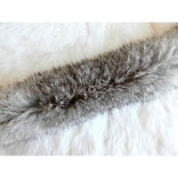 Artificial Rabbit Fur Trimming Ribbon Trim Silky Soft Handle Furry Texture GO9Z