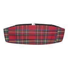 Traditional Red Tartan Cummerbund, Scotland