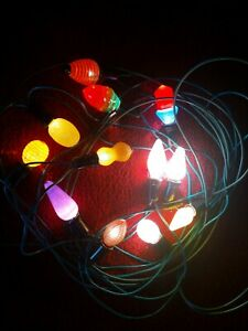 1950S 1960s Christmas Vintage  Fairy Lights in Excellent Working Order