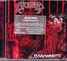 "AVULSED ""CARNIVORACITY"" CD EP REISSUE WITH BONUS TRACKS NEW SEALED"