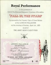 1973 ROYAL PERFORMANCE from London Palladium, with super TICKET!