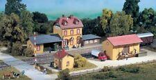 Auhagen 15102 Échelle H0 Kit Débutant Gare Cire Miniature Ville #