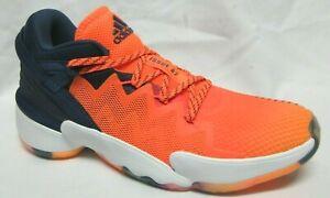Adidas D.O.N Issue #2 Orange Men's Basketball Shoes 9.5