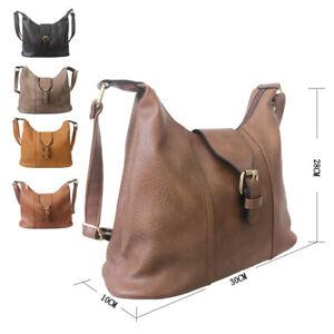 New Womens Designer Style CrossBody Bag Ladies Shoulder Handbag Faux Leather