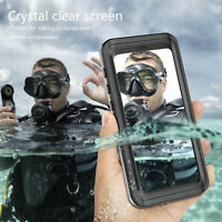 Waterproof Case Dirt Shock Proof Clear PC Cover For Samsung Galaxy S9 S9Plus S9+