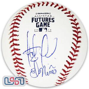 "Fernando Tatis Jr. Padres Signed ""El Nino"" 2018 Futures Game Baseball JSA Auth"