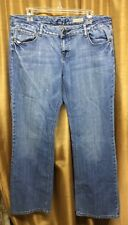 Womens Chip & Pepper Medium Wash Boot Cut Jeans Size 15