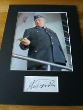 Gert Frobe James Bond Genuine Signed Authentic Autograph - UACC / AFTAL.