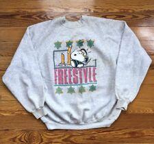 50c34b0b0 Vintage Artex Joe Cool Sweatshirt Sz M Snoopy Camo Army New York Schulz 70s