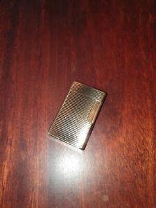 Dupont Feuerzeug Linie 1, GARANTIE, gold, groß, sehr sauberer Zustand !!!!!
