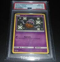 PSA 10 GEM MINT Inkay SV17/SV94 SM Hidden Fates SHINY HOLO Pokemon Card