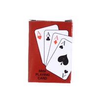 Jeu de cartes de jeu de tisonnier plaqué traditionnel avec la boîte noire li JE