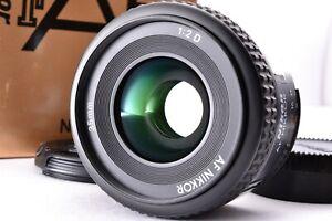 Top Mint in Box Nikon AF Nikkor 35mm f/2 D Lens Wide Angle SLR From Japan Caps