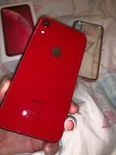Apple IPhone XR Red Unlock 64GB Excellent Condition.