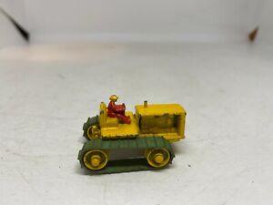 Matchbox Lesney 1-75 Series 8A Caterpillar Tractor 42mm