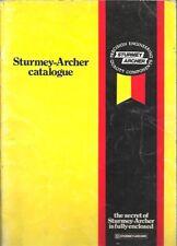 STURMEY ARCHER componenti per biciclette e accessori originale 1980 FACTORY catalogo