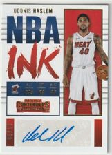 Udonis Haslem 2017-18 Panini Contenders Basketball NBA Ink Autograph NI-UHL /10