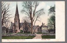 [54650] OLD POSTCARD PARK CHURCH & PARISH HOUSE IN NORWICH, CONNECTICUT