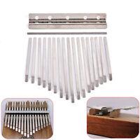 Thumb Piano Bridge Saddle 17 Keys Set Kit for Kalimba DIY Replacement Pa crteBM!