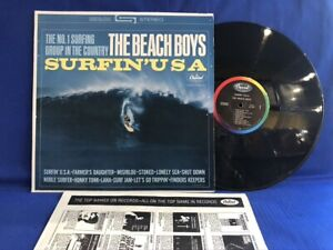BEACH BOYS SURFIN USA ST1890 INNER ORIGINAL USA LP EXC+