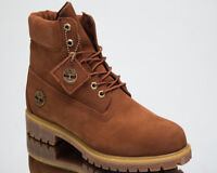 Timberland 6 Inch Premium Waterproof Boots Men's New Lifestyle Shoes Brown A1U8K
