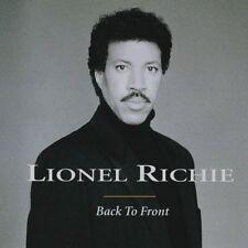 Lionel Richie : Back to Front - 1992 CD Album