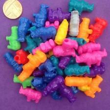 20 X Mezclado Rhino Pony Cuentas, Llaveros, Craft, fabricación de joyas, grano de caballo, espaciador