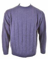 ELLESSE Mens Crew Neck Jumper Sweater XL Navy Blue AO06