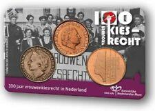 COINCARD 100 JAAR VROUWENKIESRECHT IN NEDERLAND