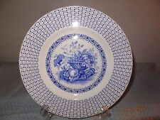 Empire England Beverley Pattern Blue and White Dinner Plate