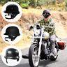 DOT Motorcycle German Half Face Helmet For Cruiser Chopper Biker Scooter M/L/XL