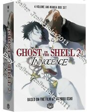 Ghost in the Shell 2: Innocence (Vol.1-4) Eng Manga Graphic Novels Box Set New