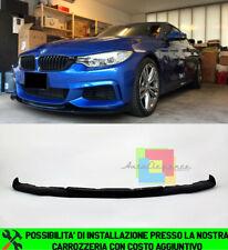 BMW SERIE 4 F32 F33 F36 SPOILER SOTTO PARAURTI ANTERIORE LAMA TUNING LOOK .-