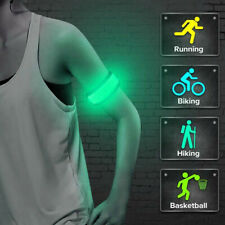 Night LED Flashing Safety Reflective Belt Strap Arm Band for Cycling Running