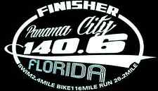 2018 Or Any year Ironman Panama City Beach Florida Triathlon Finisher Decal