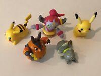 Pokemon McDonalds Figures Lot of 5 Toys Pikachu Hoopa Axew Pignite