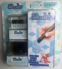 3Doodler 2.0 Set Pack Bundle - 3D Printing Pen Stand Nozzle Set Plastic Strands